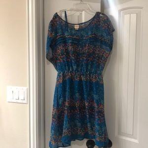 Sheer, flowy dress